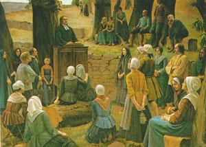Okupljanja progonjenih hrišćana